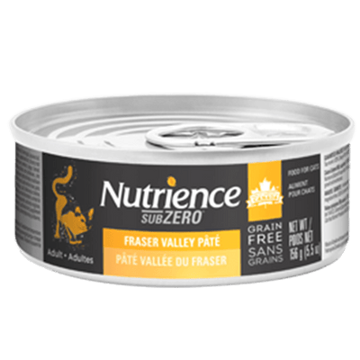 Nutrience Cat SubZero Fraser Valley Pate 156 g | Pisces Pets