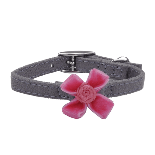 Lil Pals Grey & Pink Kitten Safety Collar | Pisces Pets