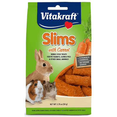 Vitakraft Slims with Carrot for Rabbits - 50 g | Pisces Pets