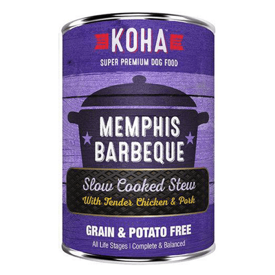 Koha Slow Cooked Stew Memphis Barbeque 360 g | Pisces Pets