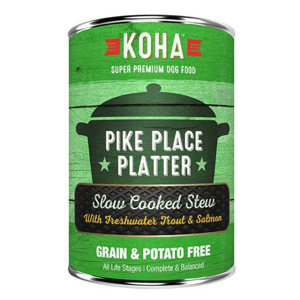 Koha Slow Cooked Stew Pike Place Platter 360 g | Pisces Pets