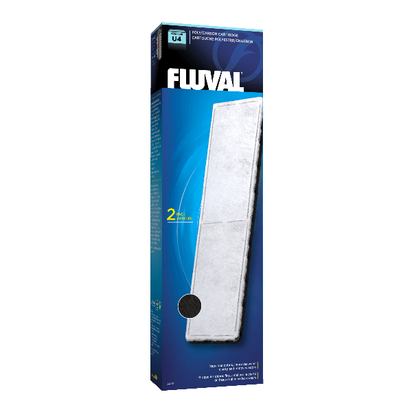 Fluval U4 Poly/Carbon Cartridge 2 Pack | Pisces Pets