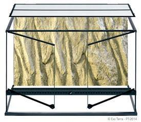 Exo Terra Terrarium Glass Large Tall 36x18x24in