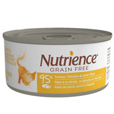 Nutrience Adult Cat Grain Free Turkey Chicken & Liver 156 g | Pisces Pets
