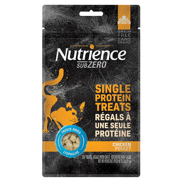 Nutrience SubZero Chicken Single Protein Treats | Pisces Pets