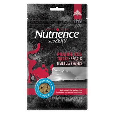 Nutrience SubZero Prairie Red Treats | Pisces Pets