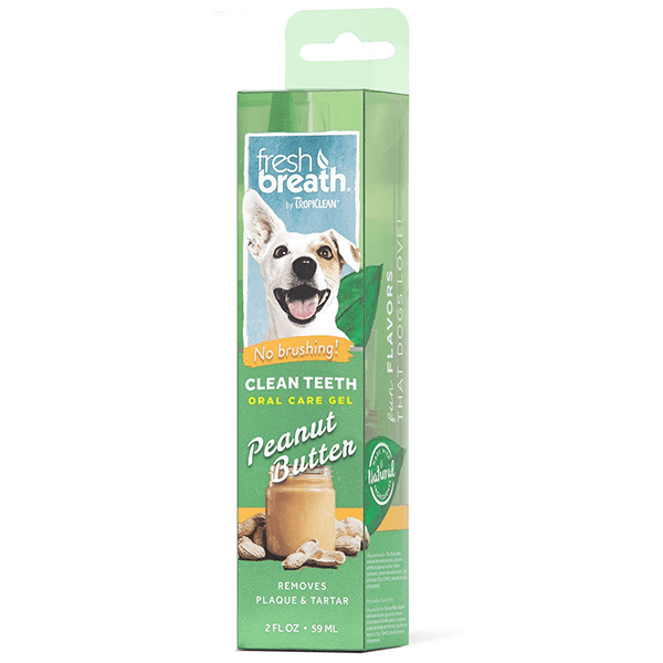 Tropiclean Fresh Breath Clean Teeth Oral Care Gel  | Pisces Pets