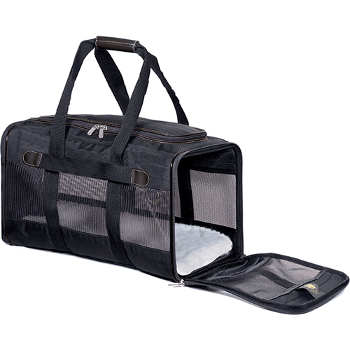 Sherpa Original Deluxe Pet Carrier Black | Pisces Pets