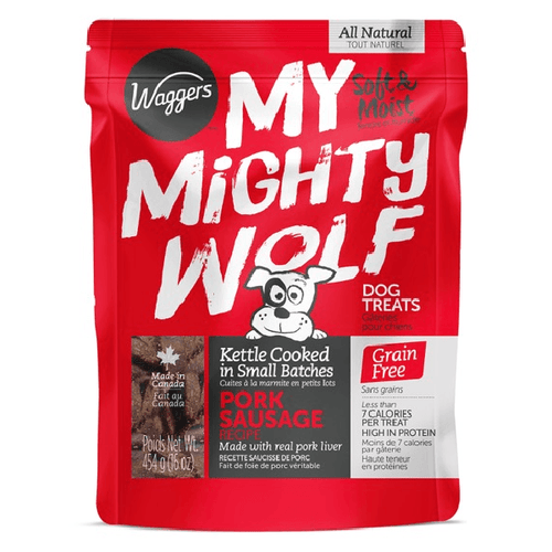 My Mighty Wolf Pork Sausage | Pisces Pets
