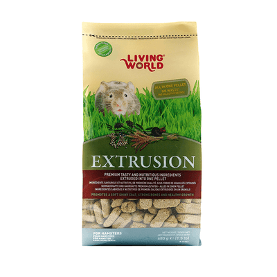 Living World Extrusion Hamster Food | Pisces Pets