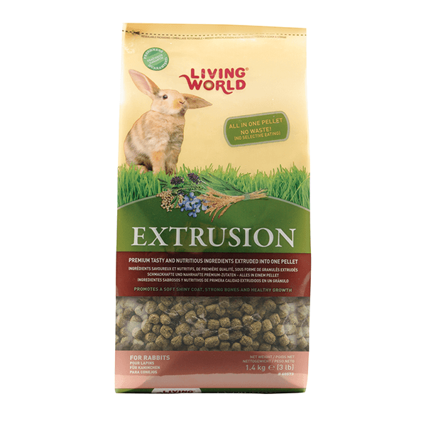 Living World Extrusion Rabbit Food | Pisces Pets