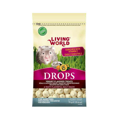 Living World Hamster Drops | Pisces Pets
