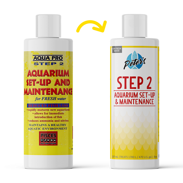 Aqua Pro Step 2 Aquarium Set-Up | Pisces Pets