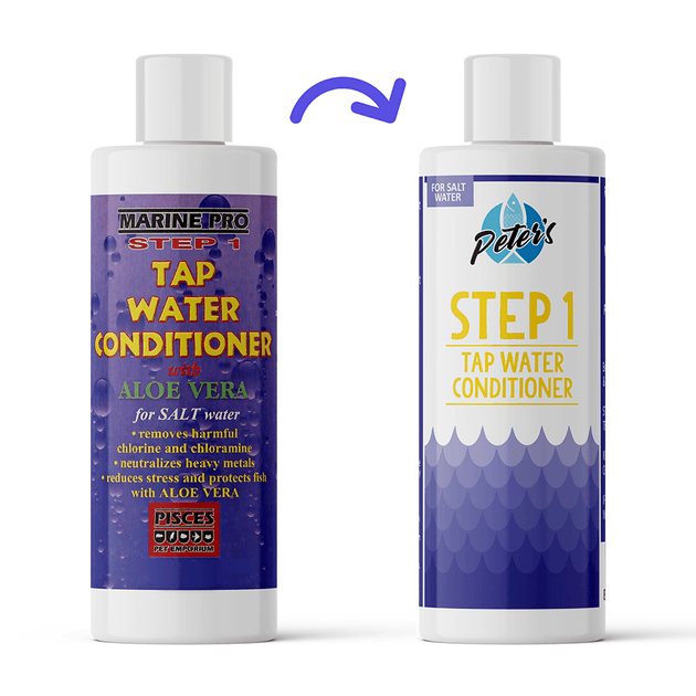Marine Pro Step 1 Tap Water Conditioner | Pisces Pets
