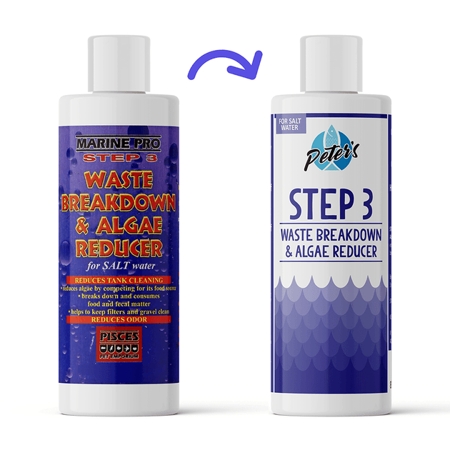 Marine Pro Step 3 Waste Breakdown & Algae Reducer | Pisces Pets