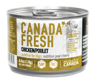 Canada Fresh Chicken Dog Food 170 g | Pisces Pets