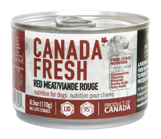 Canada Fresh Red Meat Dog Food 170 g | Pisces Pets