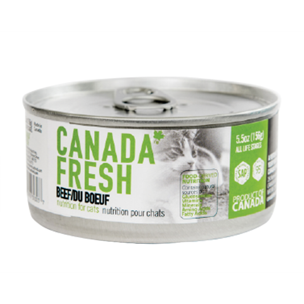 Canada Fresh Beef Cat Food 156 g | Pisces Pets