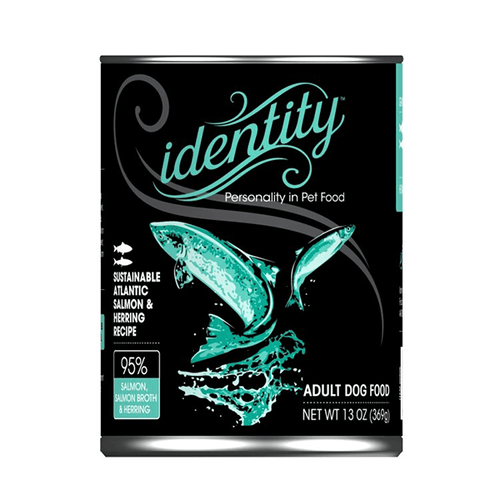 Identity Sustainable Atlantic Salmon & Herring Recipe - 369 g | Pisces Pets