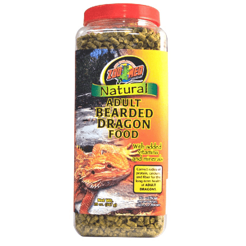Natural Bearded Dragon Food Adult Formula | Pisces Pets