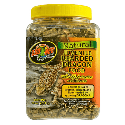 Natural Juvenile Bearded Dragon Food | Pisces Pets