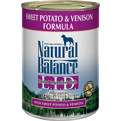 Natural Balance Limited Ingredient Diet Sweet Potato & Venison 369 g | Pisces Pets