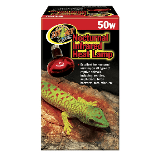 Zoo Med Nocturnal Infrared Heat Lamp | Pisces Pets