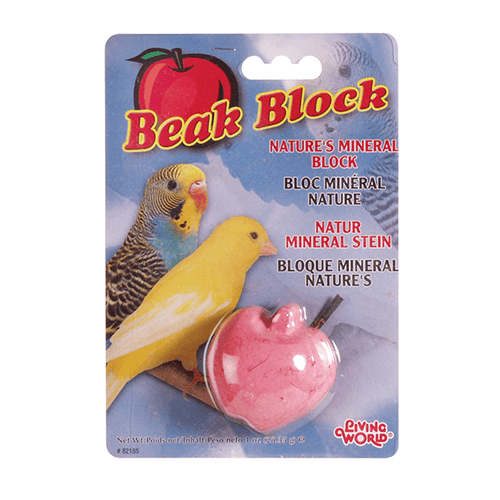 Living World Mineral Block for Parakeets | Pisces Pets