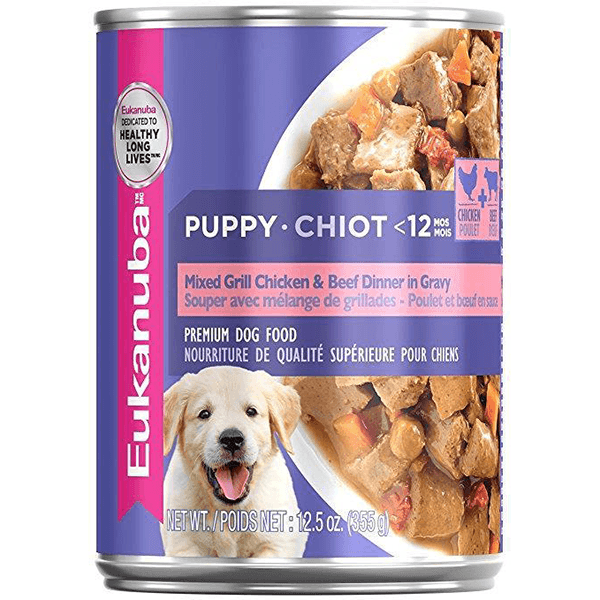 Eukanuba Puppy Mixed Grill Chicken & Beef 355 g | Pisces Pets