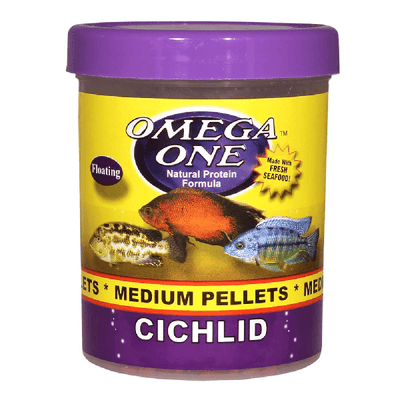 Omega One Cichlid Medium Pellet | Pisces Pets