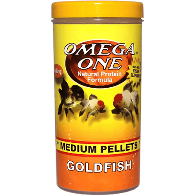 Omega One Goldfish Pellets Medium | Pisces Pets