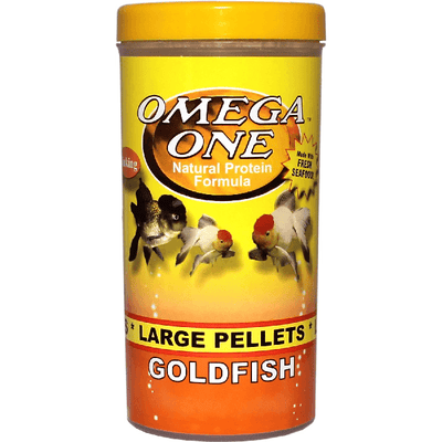 Omega One Goldfish Pellets Large | Pisces Pets