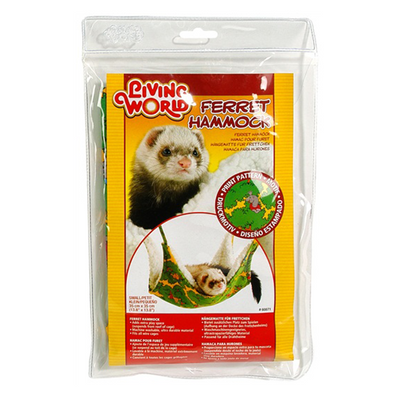 Living World Green Ferret Hammock - Small | Pisces Pets