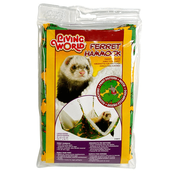 Living World Green Ferret Hammock - 41 cm | Pisces Pets