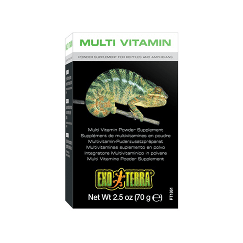Exo Terra Multi Vitamin Powder Supplement - 70 g | Pisces Pets