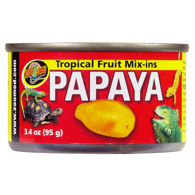 Zoo Med Tropical Fruit Mix-Ins Papaya - 95 g | Pisces Pets