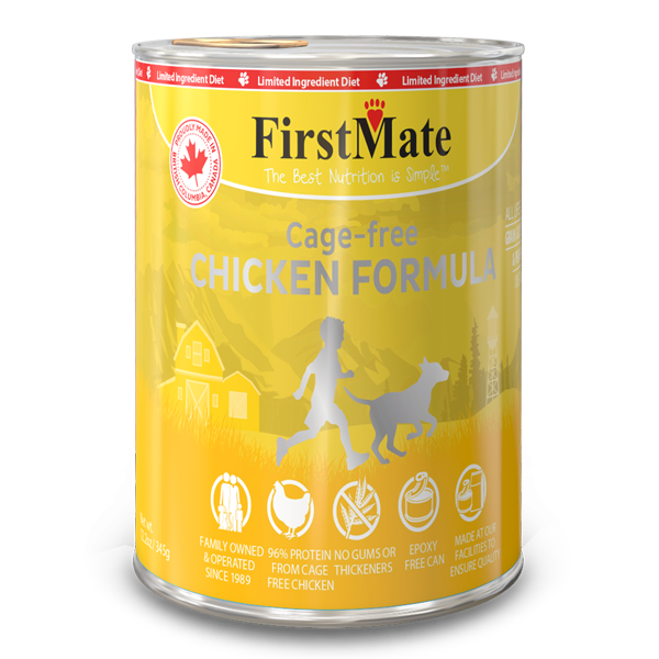 First Mate Chicken Dog Food - 345 g | Pisces Pets