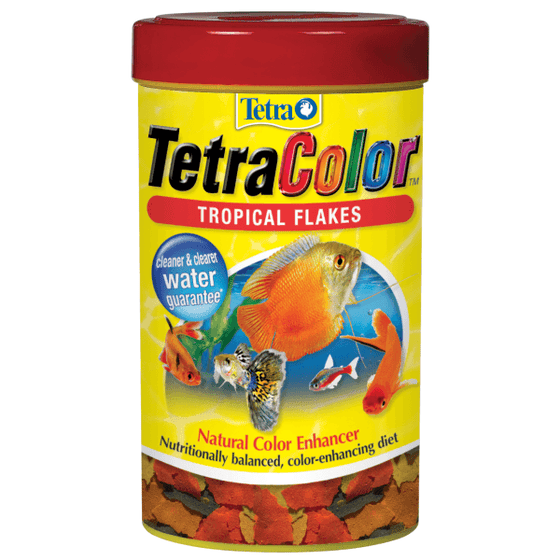 TetraColor Tropical Flakes | Pisces Pets