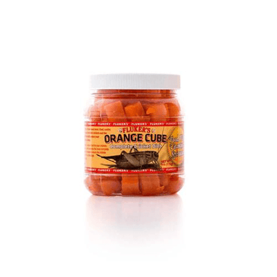 Fluker's Orange Cube Cricket Diet | Pisces Pets