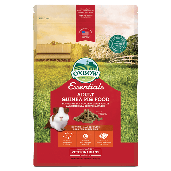 Oxbow Essentials Adult Guinea Pig Food | Pisces Pets