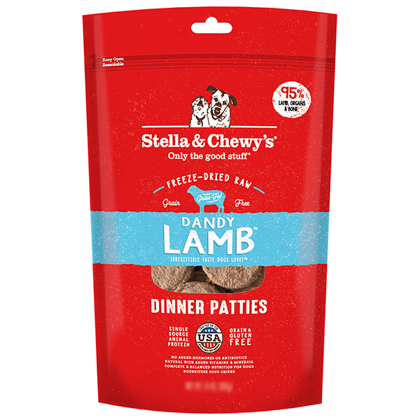 Stella & Chewy's Dandy Lamb Dinner Patties | Pisces Pets