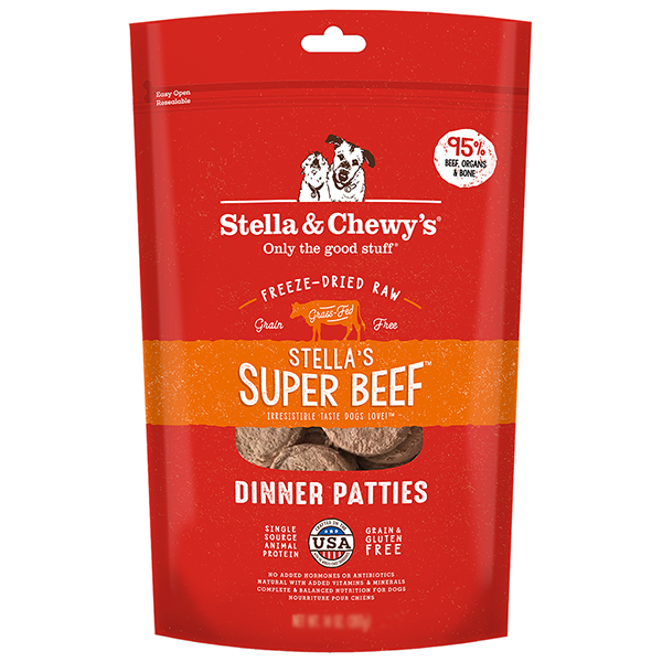 Stella & Chewy's Super Beef Dinner Patties | Pisces Pets