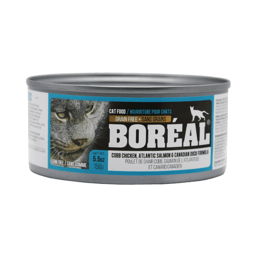 Boreal Cat Cobb Chicken, Altantic Salmon & Candian Duck Formula - 156 g | Pisces Pets
