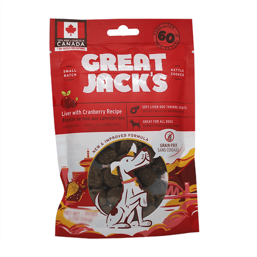 Great Jack's Liver & Cranberry Training Treats | Pisces Pets
