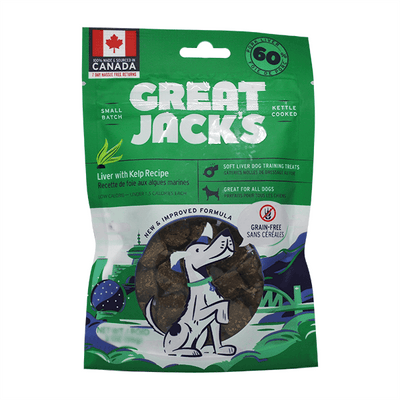 Great Jack's Liver & Kelp Training Treats | Pisces Pets