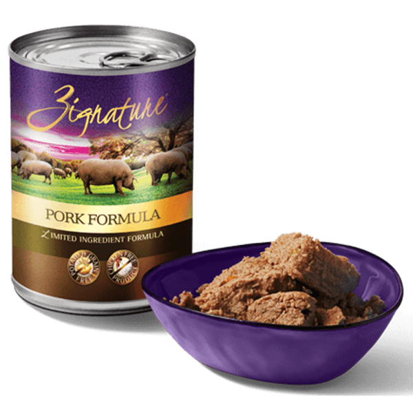 Zignature Pork Formula Dog Food 369 g | Pisces Pets