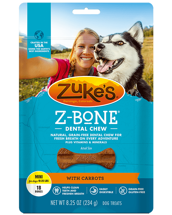 Zuke's Z-Bone Dental Chew | Pisces Pets