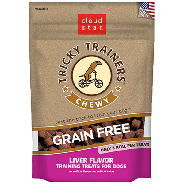 Cloud Star Grain Free Chewy Tricky Trainers Liver | Pisces Pets