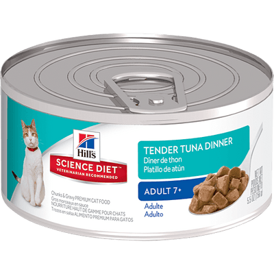 Science Diet Adult 7+ Cat Tender Tuna Dinner 156 g | Pisces Pets