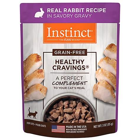Instinct Healthy Cravings Real Rabbit 85 g | Pisces Pets